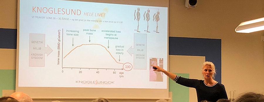 Foredrag via Osteoporoseforeningen